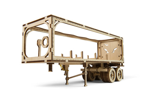 Trailer for Heavy Boy Truck  - build your own model by UGears - UGears