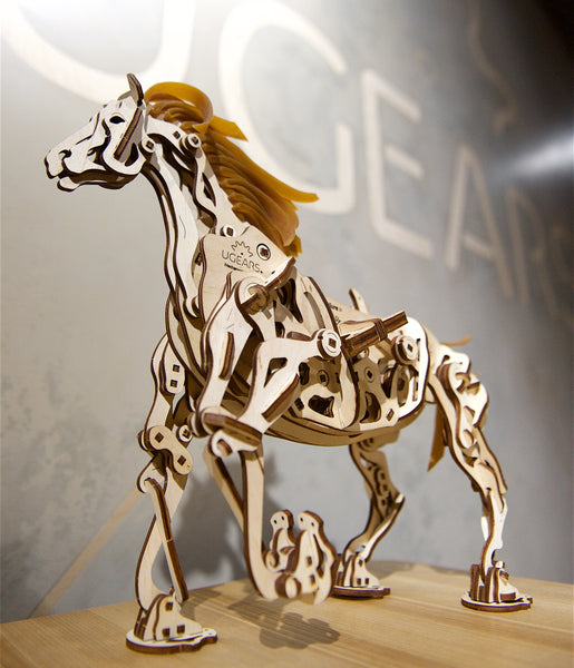 Horse Mechanoid - build your own walking pet by UGears - UGears