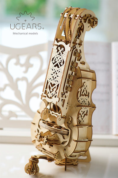 Hurdy-Gurdy - musical instrument by UGears - UGears