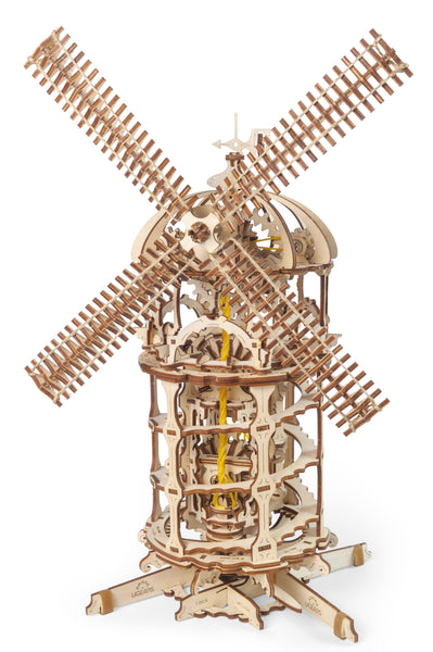 Tower Windmill by UGears - build your own moving model - UGears
