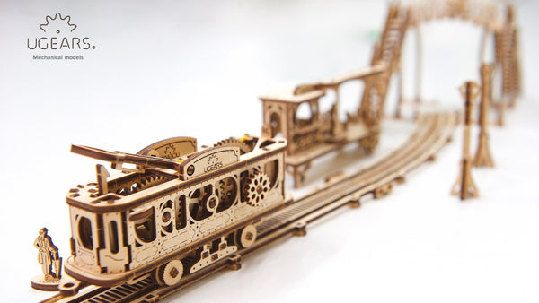 Tram line - build your own mechanical town by UGears - UGears