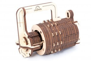 Сombination Lock - build your own working model by UGears - UGears - 1