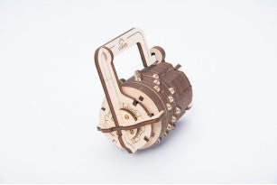 Сombination Lock - build your own working model by UGears - UGears - 5