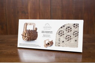 Сombination Lock - build your own working model by UGears - UGears - 8
