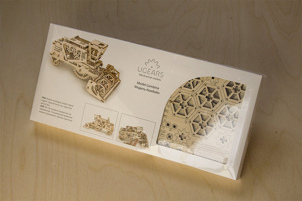 Combine - build your own moving model by UGears - UGears - 3