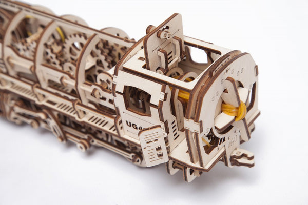 Steam Locomotive - build your own moving model by UGears - UGears - 4