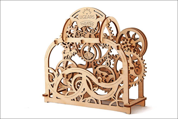 Theatre - build your own moving model by UGears - UGears - 3