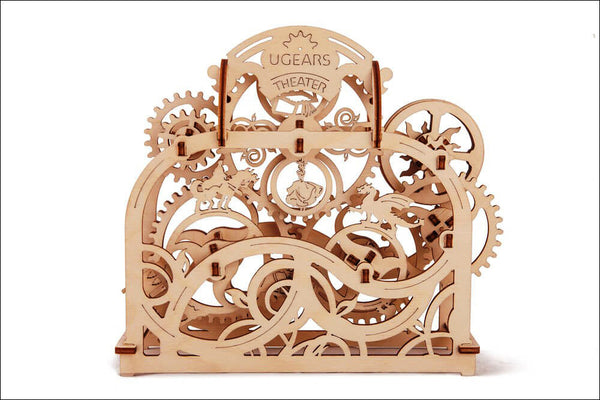 Theatre - build your own moving model by UGears - UGears - 7
