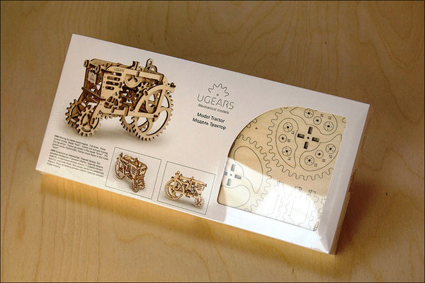 Tractor - build your own moving model by UGears - UGears - 2