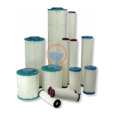 Harmsco PP-HC-40-1 Hurricane Poly-Pleat Filter Cartridge