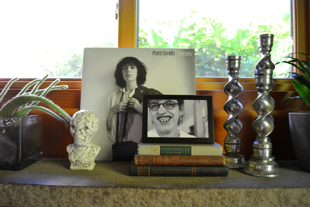 Patti Smith & Cactus - Eclectic Home Tour for Artifactpdx.com