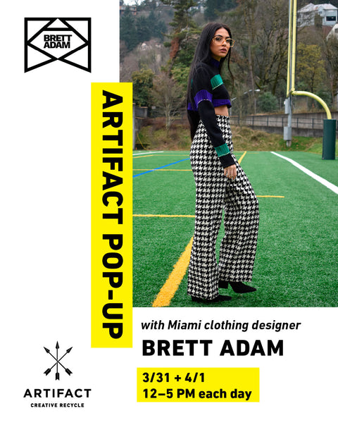 Brett Adam Pop-Up at Artifact