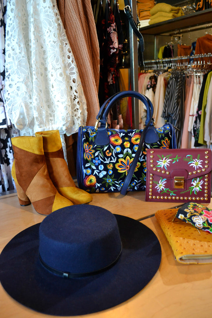 New Store Tour with Portland boutique, Maripoll! Embroidered fashion, booties