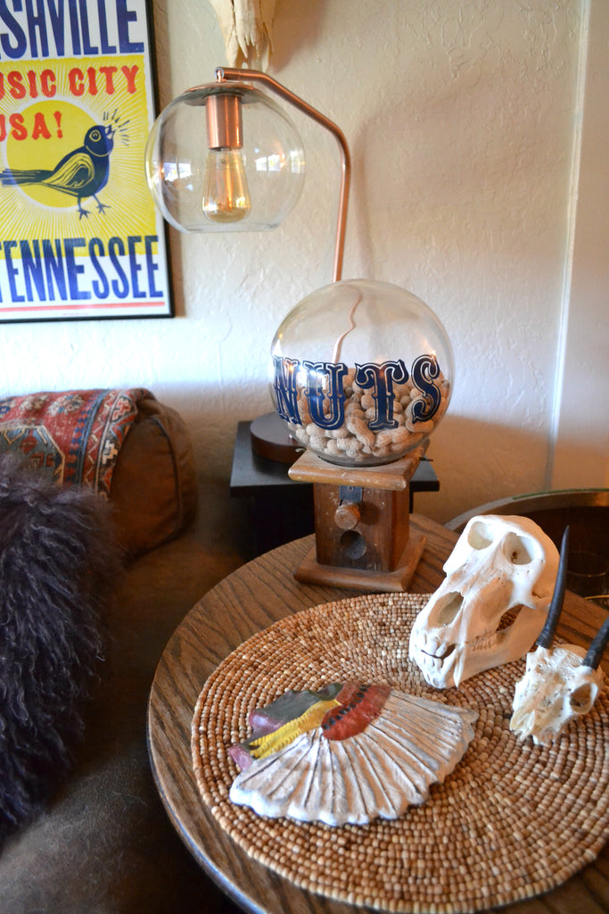 Artifact Home Tour with Cat Farotte. Skulls,, vintage Portland home