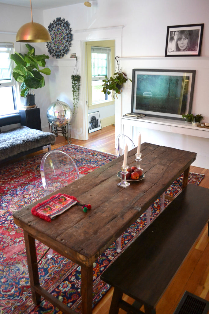 Home tour with Portland artists, Michelle Rajotte & Chris Howell.