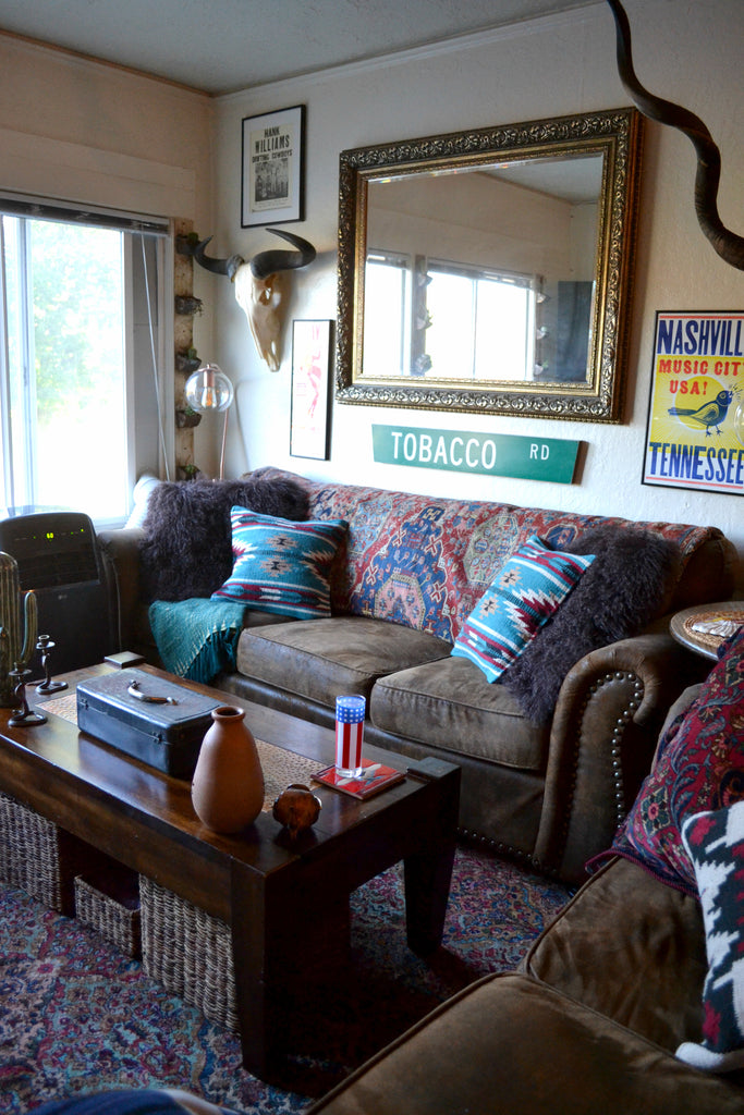 Home Tour with Portland vintage collector, Cat Farotte.