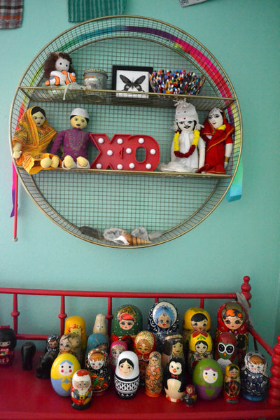 stacking dolls russian matryoshka, cool shelving, daughters room, kids room