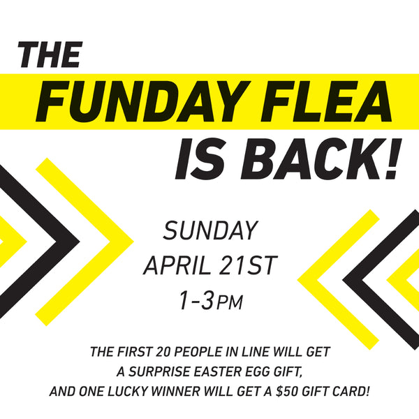 Portland's Funday Flea Sale at Artifact Creative Recycle! Everything is only $1 and all proceeds are donated to a local non-profit!