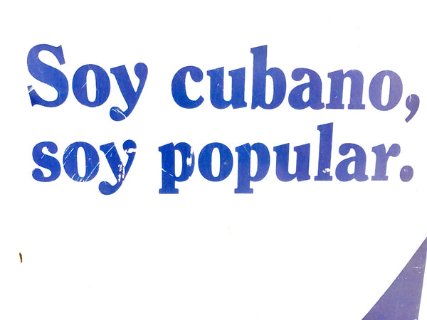 Soy Cubano Soy Popular national cigarette brand of Cuba