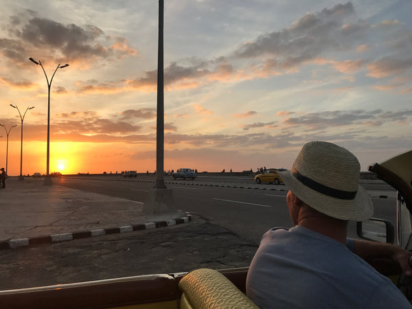 Sunset overlooking the Malecon Cuba