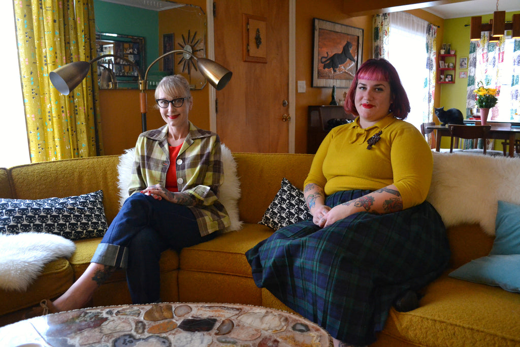 Mid century Home Tour with Laurel & Toni!