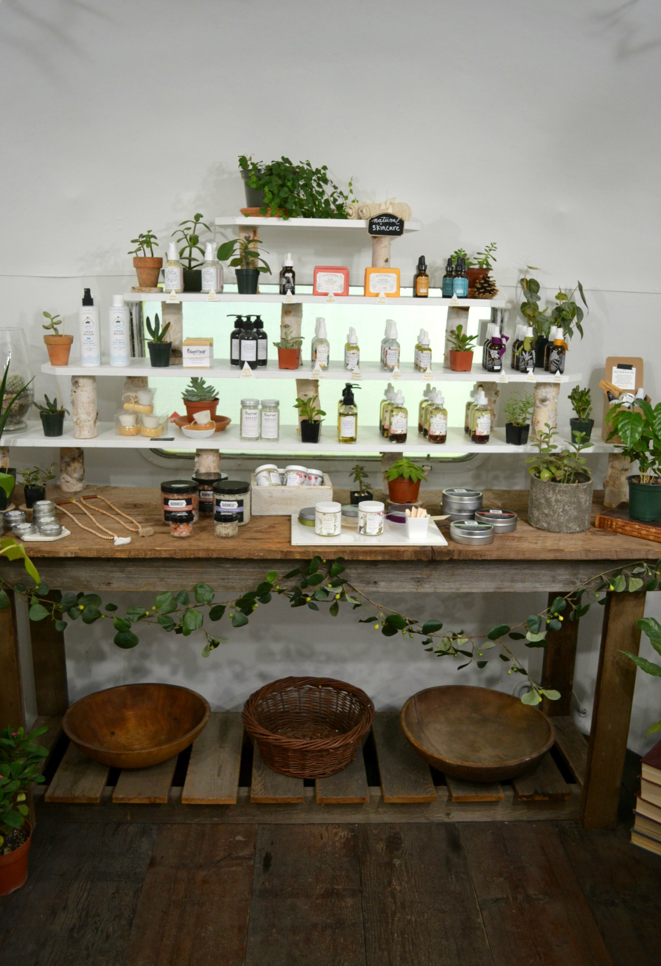 Store Tour with Menagerie - Portland's natural beauty Airstream, focused on supporting natural, locally made products.