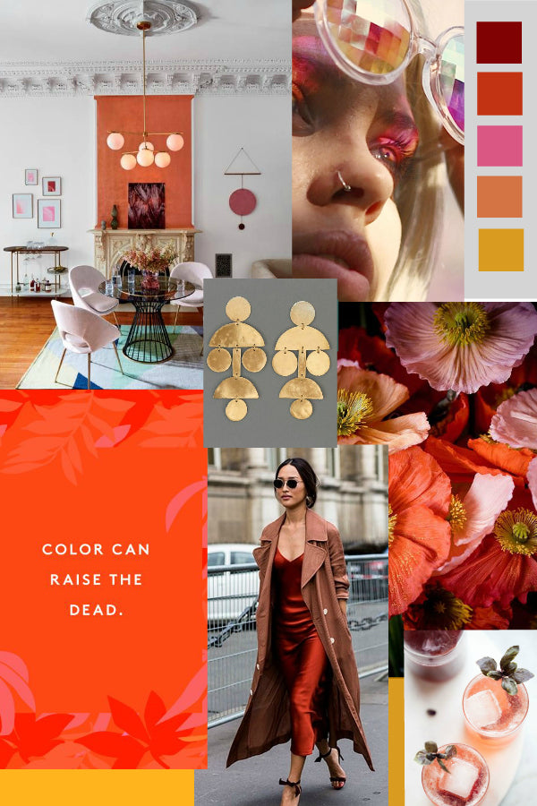 Artifact's September Monthly Moodboard of Autumn inspiration!