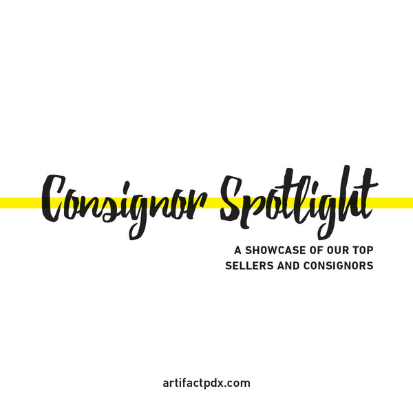 Consignor spotlight featuring Artifact's top sellers.