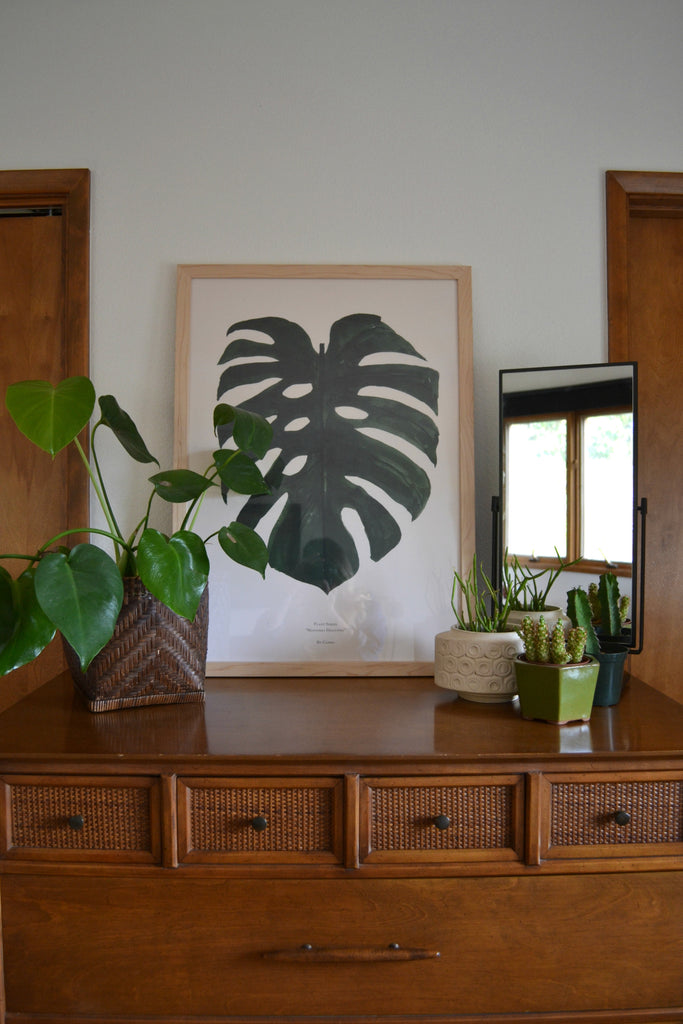 Washington Home Tour with Summer Wick. Midcentury modern furniture, Schoolhouse Electric, Eames chair, house plants,
