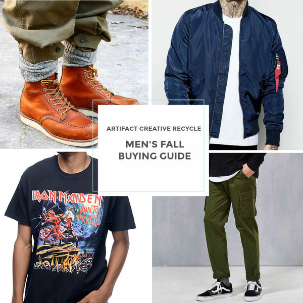 Fall Men's buying guide!