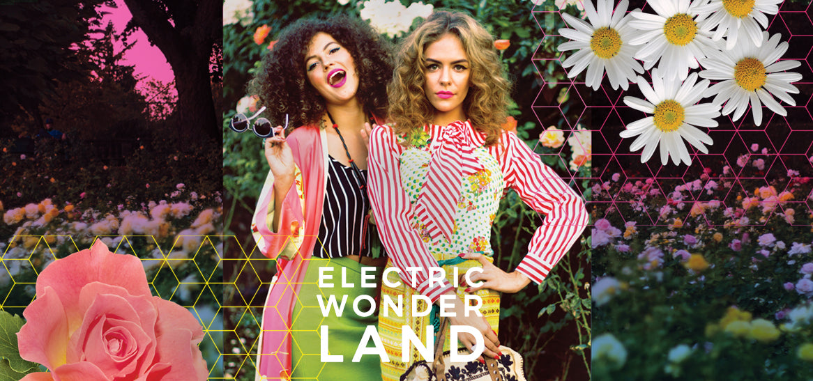 Electric Wonderland Rose Garden Lookbook