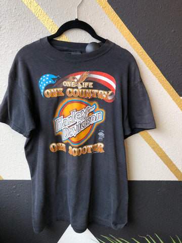 Clothing - Harley Davidson 1985 One Scooter Shirt