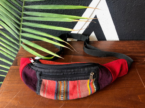 Bag - Bolivian Woven Textile Fanny Pack