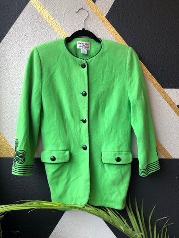 Clothing - Focus 2000 Lime Green Blazer
