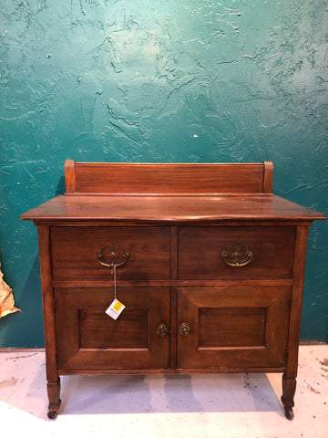 Antique Wood Cabinet