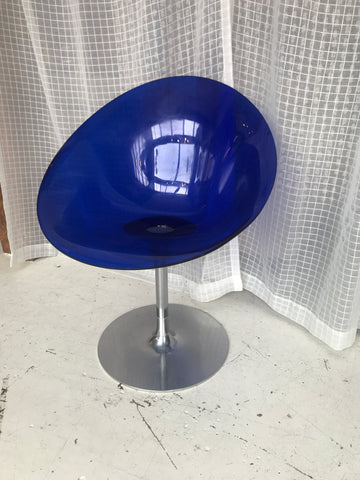 Eros by Kartell swivel chair by Phillip Starck