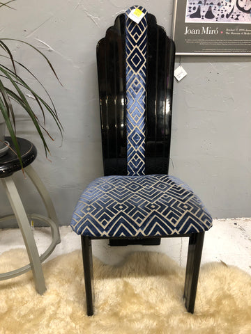 Art Deco 80's Designer Chair