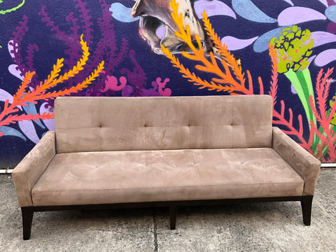 West Elm Convertible Couch