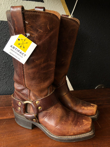 Sz5.5 Durango Brown Leather Boots