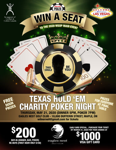 Eagles Nest Charity Poker Night