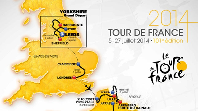 Le Tour in the UK