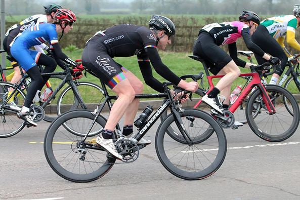 Luke Souter in the Spring Chicken Road Race