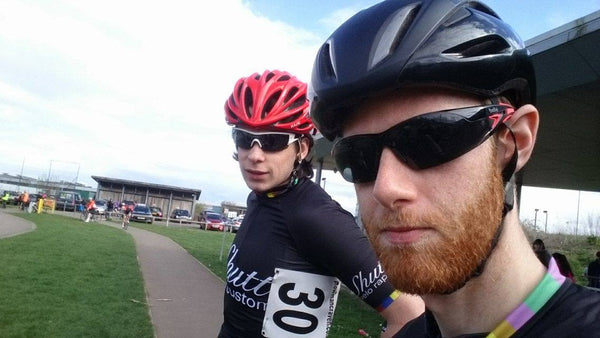 Jered and George at Hillingdon