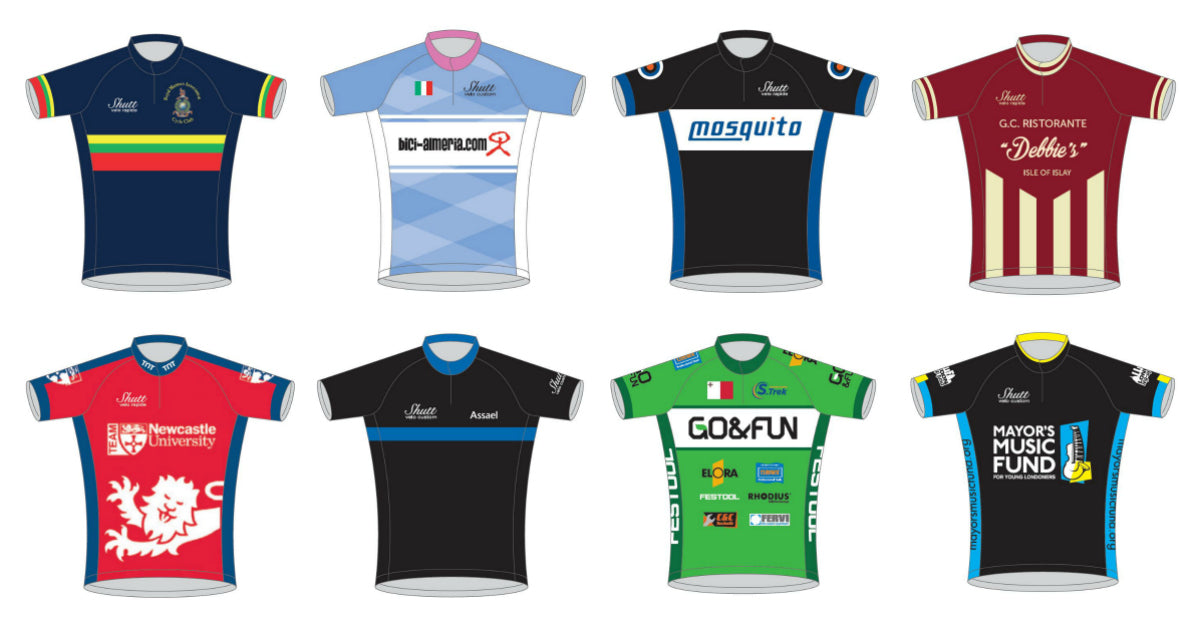 Custom kits for teams and clubs