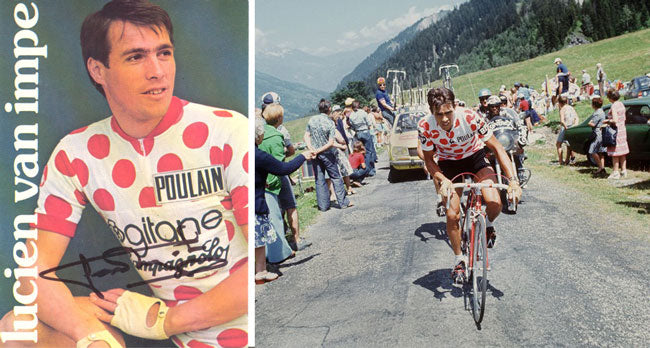 How the King of the Mountains Jersey came to have red polka dots