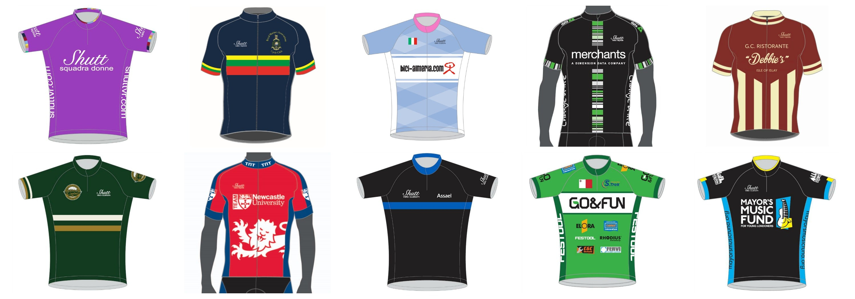 Shutt Custom Cycling Jerseys