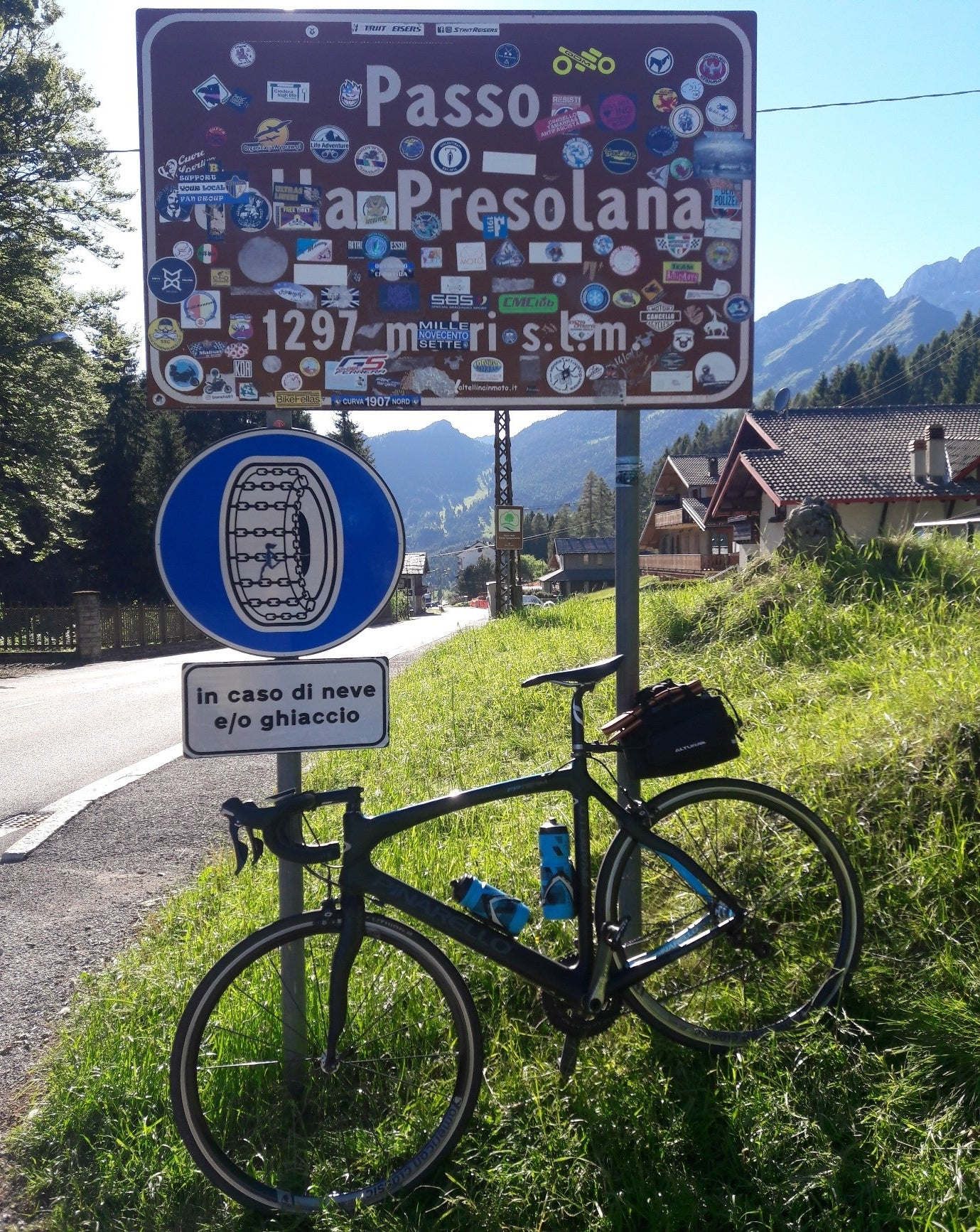 The Passo della Presolana. The final climb of the trip.