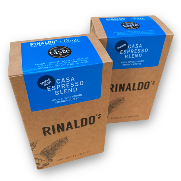 "Rinaldo's - Shutt Velo ""CASA"" - Single Origin Espresso Blend - 100% Arabica"