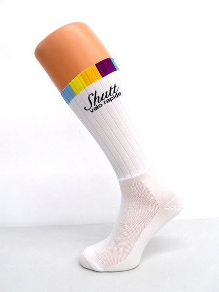White Aero Socks