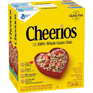 Cheerios Gluten-Free Cereal (20.35 oz., 2 pk.)-1